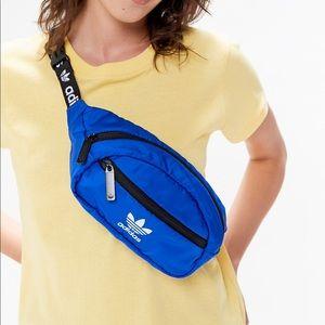 Adidas blue Fanny pack NWT